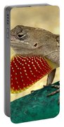 Brown Anole Portable Battery Charger