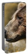 Brown Bear Golden Morning Portable Battery Charger