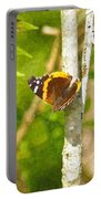 Brown Butterfly 2 Portable Battery Charger
