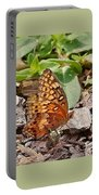 Brown Butterfly Portable Battery Charger