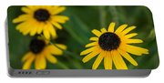 Brown Eyed Susans Portable Battery Charger