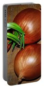 Brown Onions Portable Battery Charger