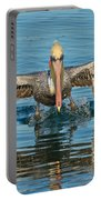 Brown Pelican Taking Off Portable Battery Charger