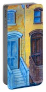 Brownstone Mural Art Portable Battery Charger