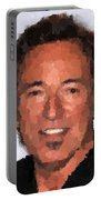 Bruce Springsteen Portrait Portable Battery Charger