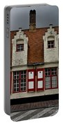 Bruges Houses Portable Battery Charger