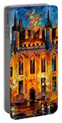 Bruges Portable Battery Charger by Leonid Afremov