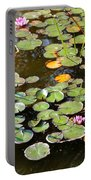 Bruges Lily Pond Portable Battery Charger