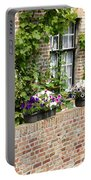 Brugge Balcony Portable Battery Charger by Carol Groenen
