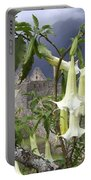Brugmansia At Machu Picchu Portable Battery Charger