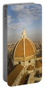 Brunelleschi's Dome At The Basilica Di Santa Maria Del Fiore Portable Battery Charger