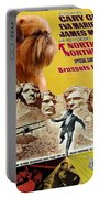 Brussels Griffon Art - North By Northwest Movie Poster Portable Battery Charger