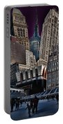 Bryant Park Collage Portable Battery Charger