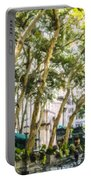 Bryant Park Midtown New York Usa Portable Battery Charger