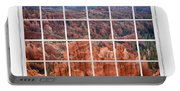 Bryce Canyon White Picture Window View Portable Battery Charger