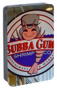 Bubba Gump Shrimp Sign Portable Battery Charger