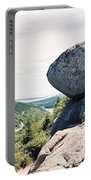 Bubble Rock Acadia National Park Maine Portable Battery Charger