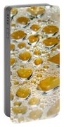 Bubbles Of Steam Amber Portable Battery Charger