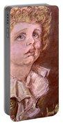 Bubbles Pastel Portrait Portable Battery Charger