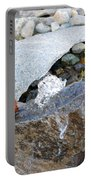 Bubbling Rock Portable Battery Charger