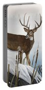 Buck At Waters Edge Portable Battery Charger