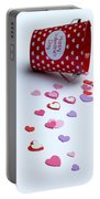 Bucket Of Hearts Portable Battery Charger