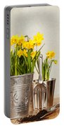 Buckets Of Daffodils Portable Battery Charger