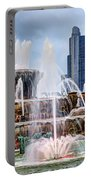 Buckingham Fountain #1 Portable Battery Charger