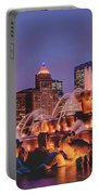 Buckingham Fountain #3 Portable Battery Charger