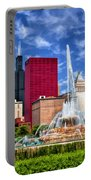 Buckingham Fountain Sears Tower Portable Battery Charger
