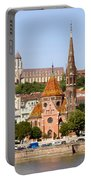 Buda Reformed Church In Budapest Portable Battery Charger