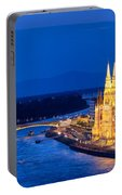 Budapest By Night Portable Battery Charger