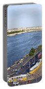 Budapest Street Traffic In Hungary Portable Battery Charger