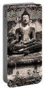 Buddha In Meditation Statue Portable Battery Charger