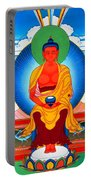 Buddha Of Infinite Light 39 Portable Battery Charger