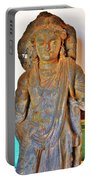 Ancient Buddha Statue - Albert Hall - Jaipur India Portable Battery Charger