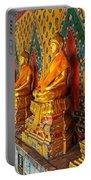 Buddhas At Wat Arun, Bangkok Portable Battery Charger