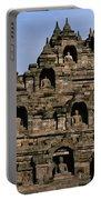 Buddhas Of Borobudur Portable Battery Charger