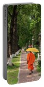 Buddhist Monk 01 Portable Battery Charger