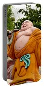 Buddhist Monk On Journey Haw Par Villas Singapore Portable Battery Charger
