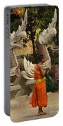 Buddhist Monk Thailand 3 Portable Battery Charger