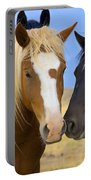 Buddies Wild Mustangs Portable Battery Charger