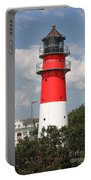 Buesum Lighthouse - North Sea - Germany Portable Battery Charger