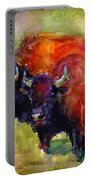 Buffalo Bisons Painting Portable Battery Charger