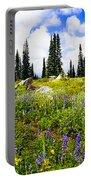 Buffalo Pass Colorado Wildflowers Portable Battery Charger