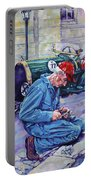 Bugatti-angouleme France Portable Battery Charger by Derrick Higgins