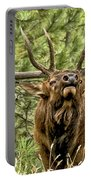Bugling Bull Elk II Portable Battery Charger by Ron White