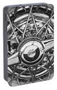 Buick Skylark Wheel Black And White Portable Battery Charger