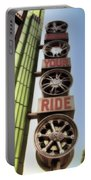 Build Your Ride Signage Downtown Disneyland 01 Portable Battery Charger