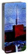 Building As A Painting Portable Battery Charger